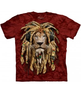 T-shirt DJ Jahman Edition Spéciale Rouge The Mountain
