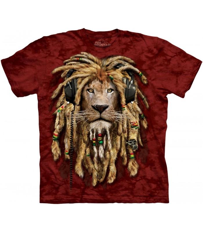 T-shirt DJ Jahman Edition Spéciale Rouge The Mountain