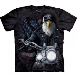 Biker Striker - T-shirt Manimal par The Mountain