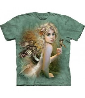 Touch of Gold - Fairy T Shirt by the Mountain