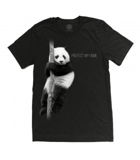 T-shirt Protection du Panda Tri-blend The Mountain