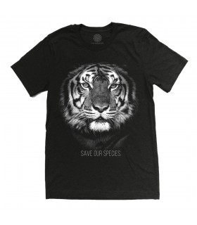 T-shirt Protection du Tigre Tri-blend The Mountain