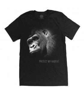 Gorilla Protect My Habitat TriBld TShirt