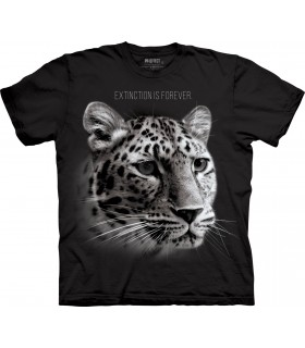 Leopard Extinct Forever TriBlend T Shirt