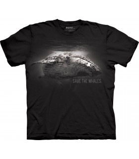 T-shirt Sauver les Baleines The Mountain
