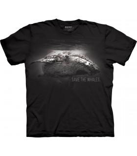 T-shirt Sauver les Baleines The Mountain