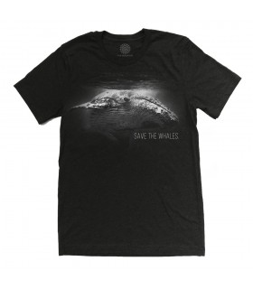Save The Whales Tri-Blend T Shirt