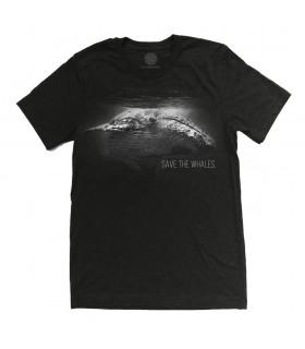 T-shirt Protection des Baleines Tri-blend The Mountain