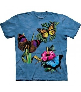T-Shirt 3 papillons par The Mountain