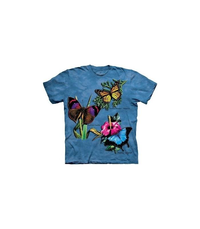 T-Shirt 3 papillons par The Mountain