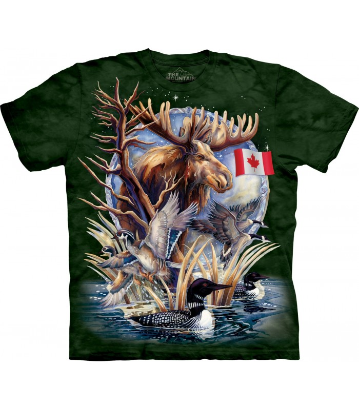 Canada Loon Collage T Shirt