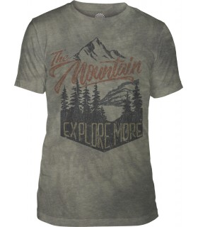 T-shirt Exploration Tri-blend The Mountain