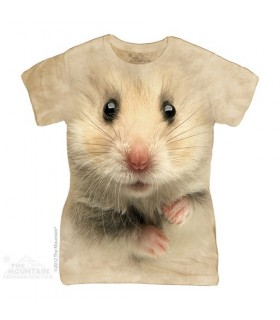 T-shirt Femme Hamster The Mountain
