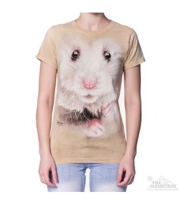 T-shirt Femme Hamster The Mountain