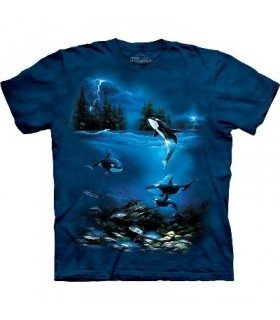 T-Shirt Nuit d'orage par The Mountain