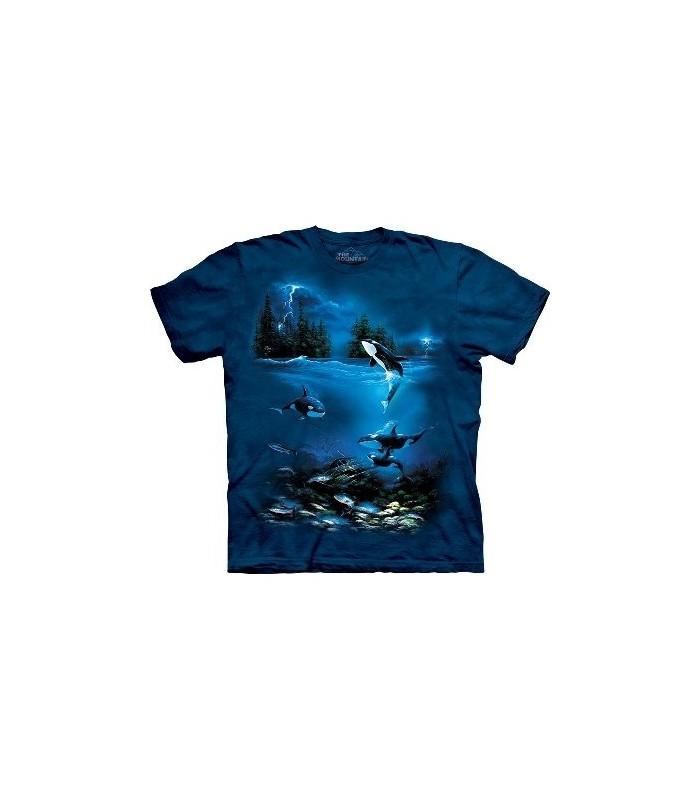 T-Shirt Nuit d'orage par The Mountain