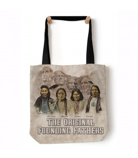 The Originals Beige Native USA Tote Bag 45x45cms The Mountain