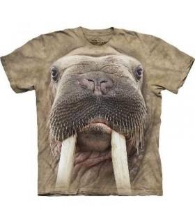 Walrus Face - Aquatic T Shirt Mountain