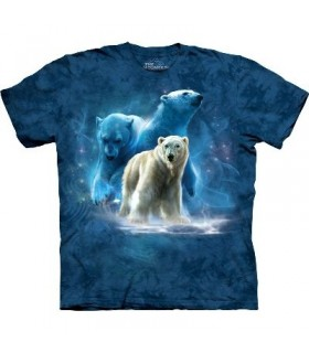 T-Shirt groupe d'ours polaires par The Mountain