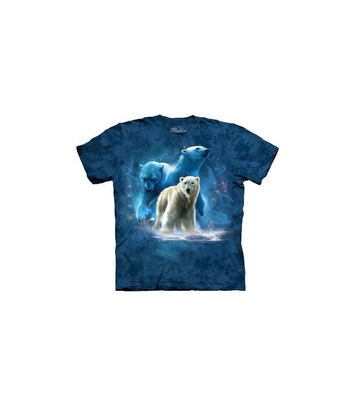 T-Shirt groupe d'ours polaires par The Mountain