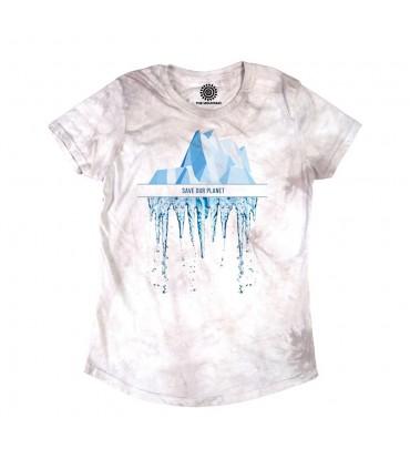 Sauver notre Planète - T-shirt Femme Tri-blend The Mountain