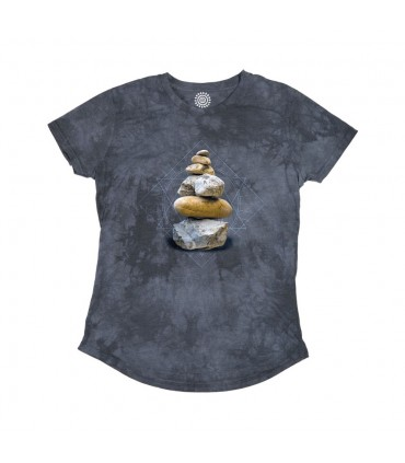 Balance - T-shirt Femme Tri-blend The Mountain