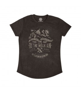 T-shirt Femme Aventure Tri-blend The Mountain
