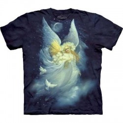 Angel of Night - Angel T Shirt by the Mountain