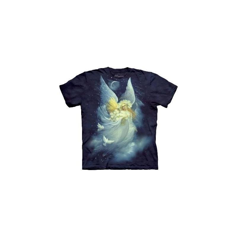 T-Shirt Ange de la nuit par The Mountain