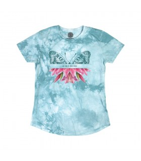 Sauvage et Libre - T-shirt femme Tri-blend The Mountain