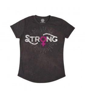 Strong Womens - T-shirt Femme Tri-blend The Mountain