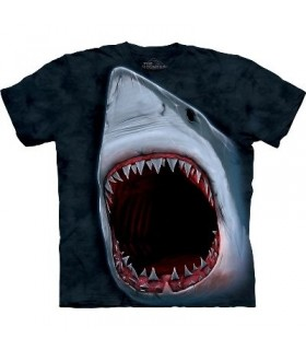 T-Shirt Morsure de Requin par The Mountain