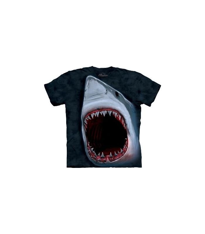 T-Shirt Morsure de Requin par The Mountain