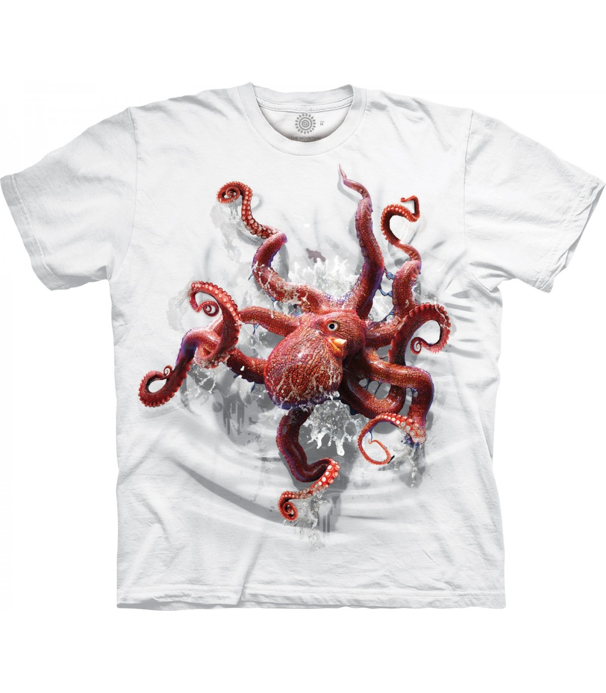 ad198d1f The Mountain Octopus Climb Special Edition White T Shirt