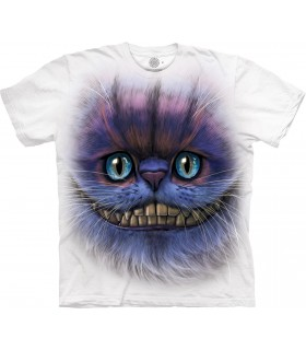 T-shirt Cheshire Cat Edition Spéciale Blanc The Mountain