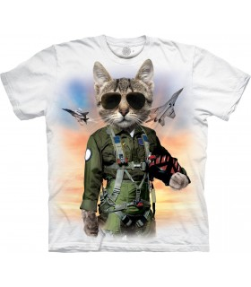T-shirt Tom Cat Edition Spéciale Blanc The Mountain