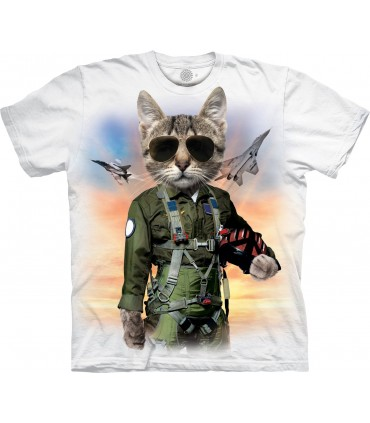 The Mountain Tom Cat Manimal Special Edition White T Shirt