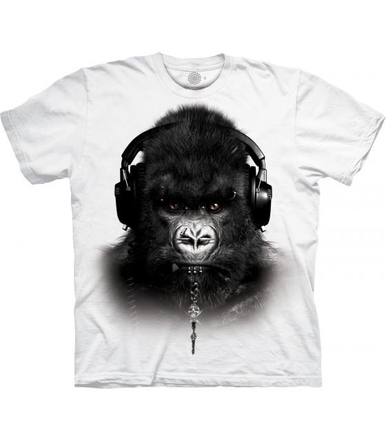 c64c9030 The Mountain DJ Caesar Gorilla Special Edition White T Shirt