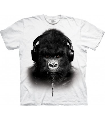 T-shirt DJ Caesar Edition Spéciale Blanc The Mountain