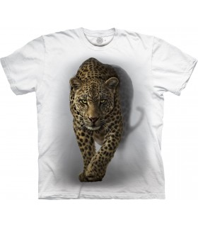 The Mountain Savage Leopard Special Edition White T Shirt