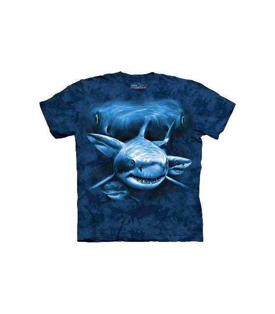 Shark Moon Eyes - Aquatics T