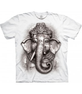 T-shirt Ganesh Edition Spéciale Blanc The Mountain