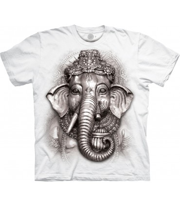 The Mountain Ganesh Cultural Special Edition White T Shirt