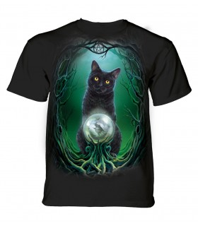 The Mountain Rise of the Witches Lisa Parker Cat T Shirt