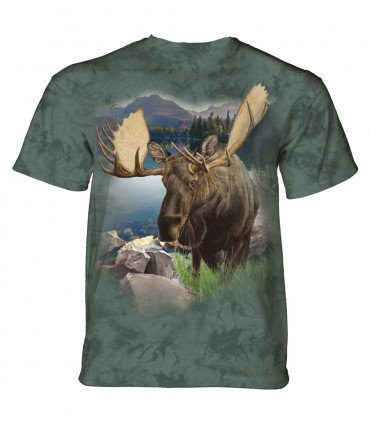 T-shirt adulte motif Elan - The Mountain