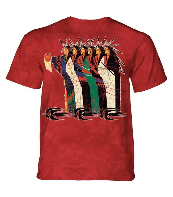T-shirt adulte Amérindien - The Mountain