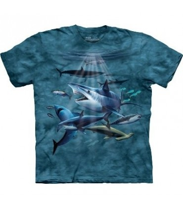 T-Shirt Requins par The Mountain