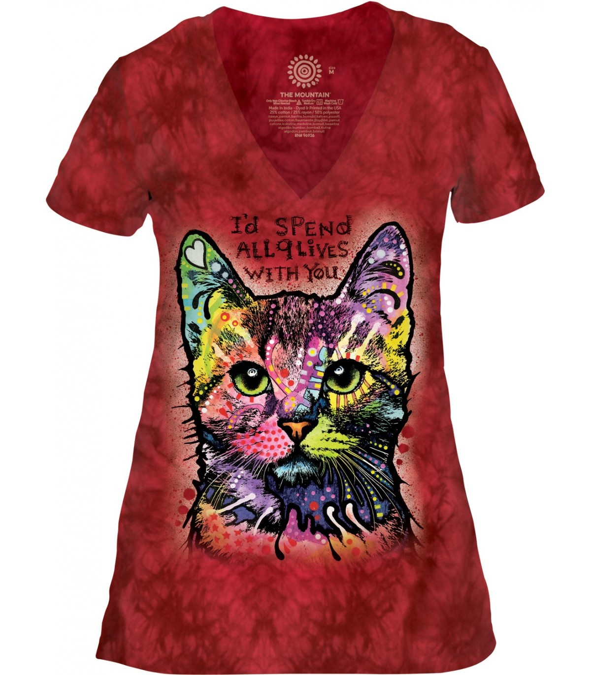 t-shirt femme chat