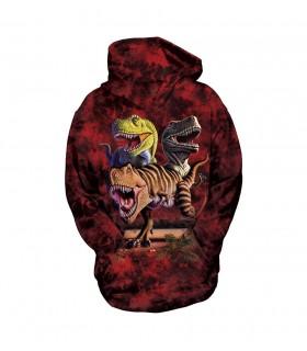 Sweat-shirt enfant motif T-Rex - The Mountain