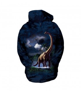 The Mountain Unisex Brachiosaurus Child Dinosaur Hoodie